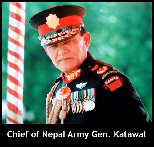 Nepal Army Chief to continue, for the present
