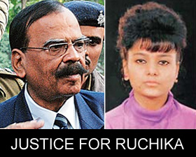 Ruchika's Friend Unveils Website On 'Child Abuse'
