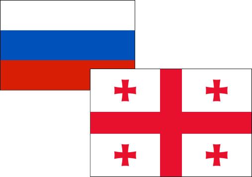 Russia-Georgia Flag