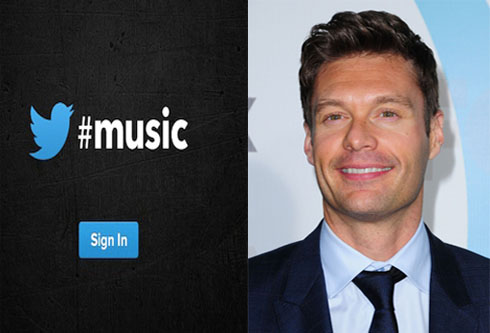 Ryan Seacrest confirms new Twitter music app