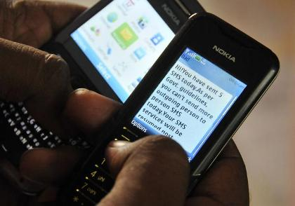 Ban on SMSes upsets mobile phone users, hurts operators' revenue