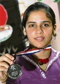 Saina Nehwal enters final of World Junior Badminton Championship