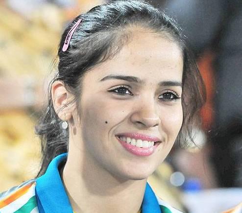 New Delhi, April 4 : India&#39;s best bet <b>Saina Nehwal</b> was knocked out of the <b>...</b> - Saina-Nehwal_27