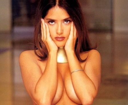 salma hayek height. This time around, Hayek, 42,