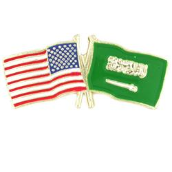 Saudi Arabia, USA-flag