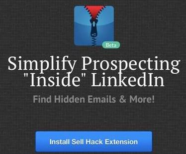 Sell Hack plug-in no longer works on LinkedIn pages