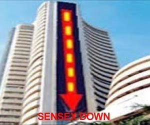 Sensex down; consumer durables, auto stocks fall