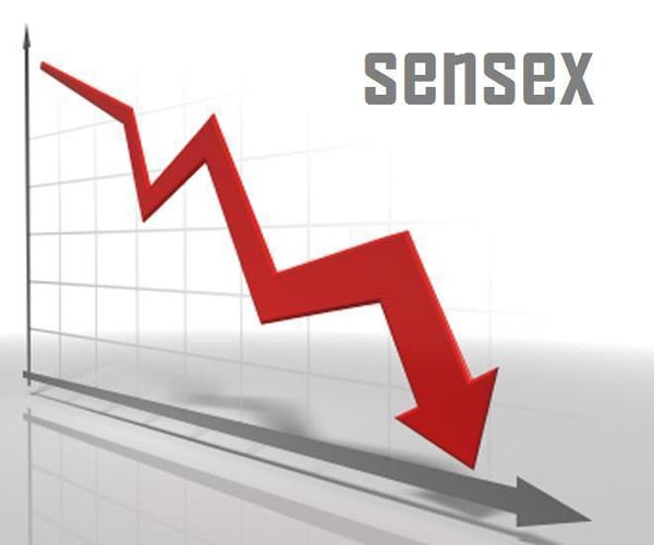 Sensex sheds 54 points during pre-noon trade