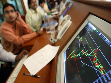 Sensex rebounds 102 points ahead of IIP, inflation data