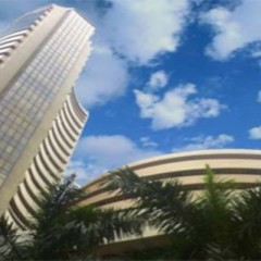 Sensex trades flat in pre-noon session