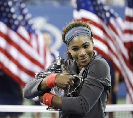 Serena Williams wins fifth US Open title