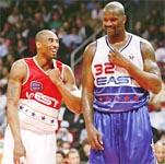 Kobe, Shaq reunite to share All-Star MVP honours