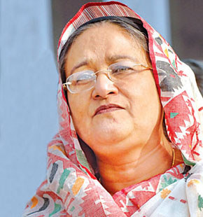 Surrender arms, or I'll take steps: Sheikh Hasina