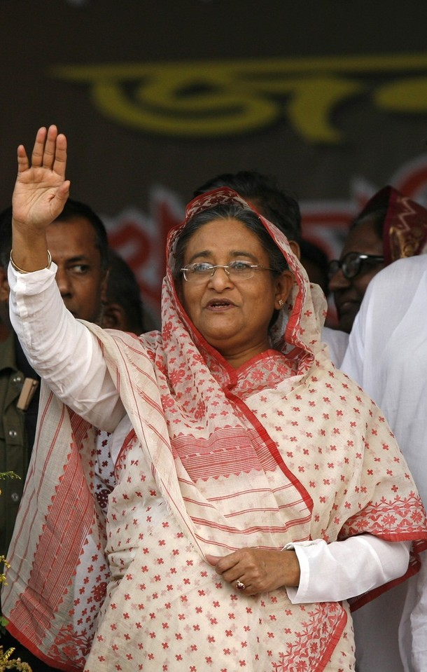 Bangladeshi premier expands her cabinet