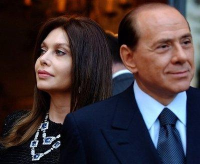 silvio berlusconi wife. Silvio Berlusconi