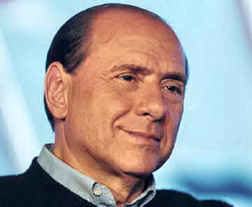 European journalists protest against Berlusconi
