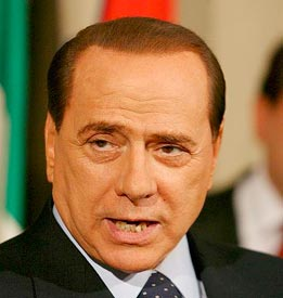 Now, Silvio Berlusconi's attempt to gag press comes under fire