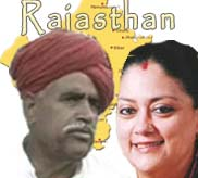 Gujjar leader sets a Rs.5 crore bounty on Rajasthan CM Raje's head