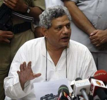Sitaram Yechury hits back at Rahul Gandhi