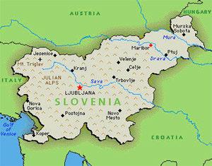 Slovenia Santi Kartika Sari - Where is slovenia
