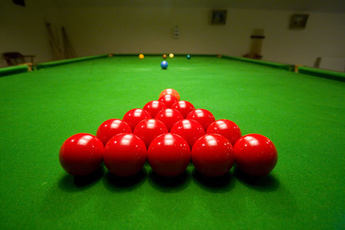 Juego: Snooker On-Line Snooker