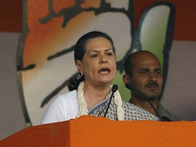 Sonia targets BJP over terrorism issue