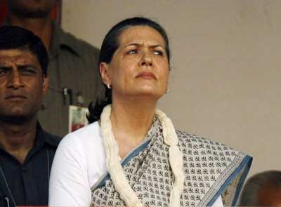 Sonia Gandhi in Rae Bareli on two-day trip