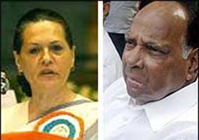 Sonia, Pawar to address joint rally in Maharashtra today
