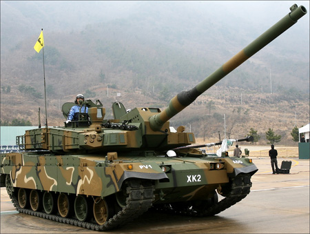 South Korea's defence exports rise over $1 bn in 2009