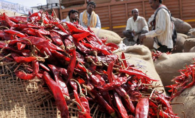 Indian spice exports increase