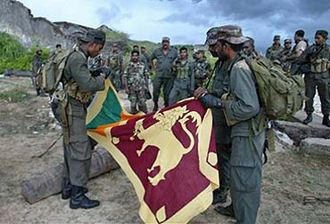 Tamil Tigers won't be allowed to regroup: Army