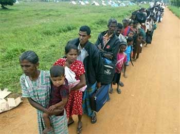 "Red Cross: refugee status in Sri Lanka ""very critical"""