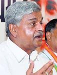 Union Minister of State for Home Sriprakash Jaiswal