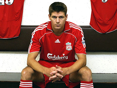 Gerrard scoops up 26 million pound Liverpool deal