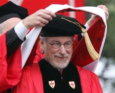 steven spielberg. Steven Spielberg honoured with