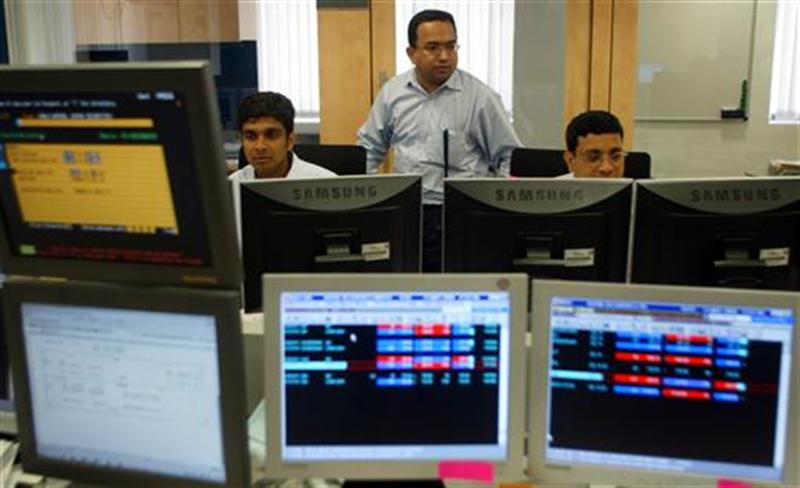 Stock Market Trades Higher; TCS Confident Of Better Performance