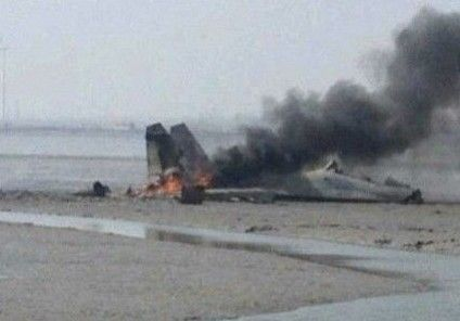 Two die in Chinese fighter jet crash