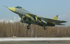 Sukhoi-T50 fighter aircraft