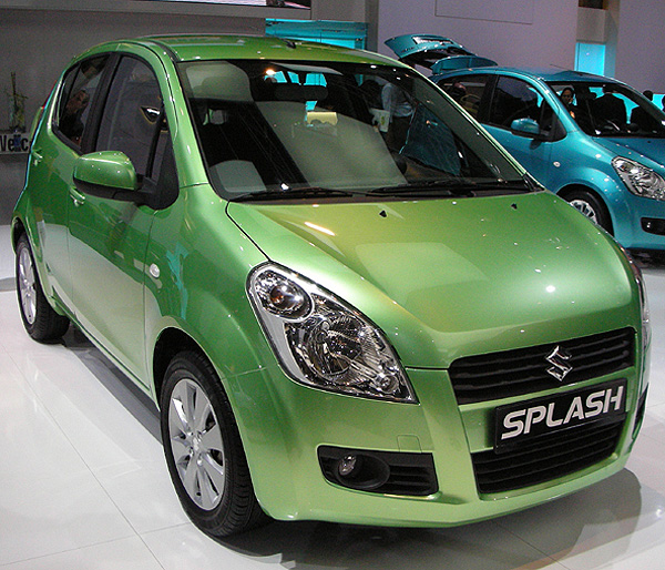 Suzuki Small Car Splash and A-Star unveiled for Indian markets