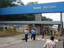 Tata Motors shares fall following reports of production halt at Jamshedpur