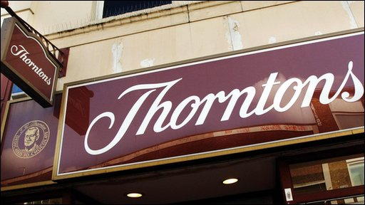 Thorntons chocolates records strong demand in supermarkets