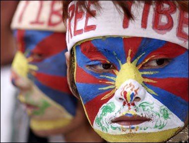 Dharamsala's exiled Tibetans protest against Chinese rule