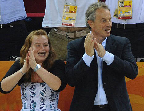 Tony Blair''s daughter defies father''s wishes