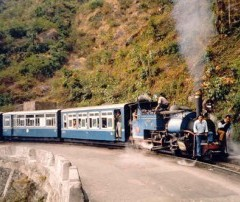 Landslide disrupts toy train service in Darjeeling