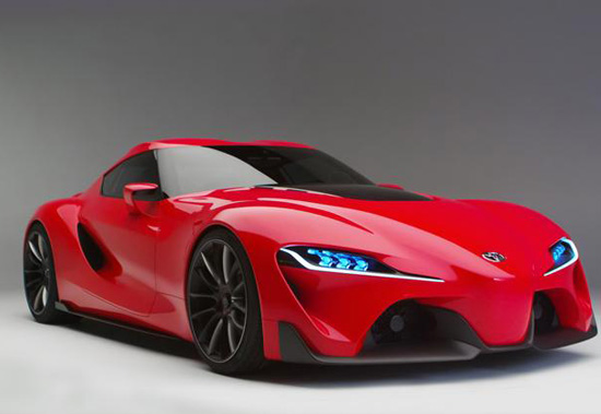Toyota Promises No More Boring Cars While Unveiling FT Concept - Fast car ft