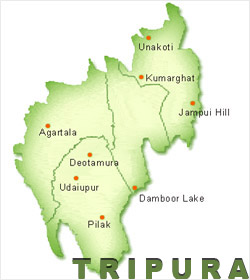 Seven more Tripura tribal separatists surrender