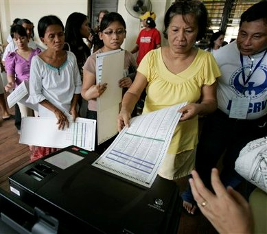 Troubled Philippine vote preceded by Violence