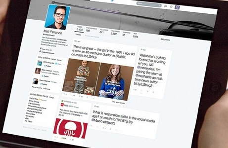 Twitter redesigning webpage to give Facebook-like look