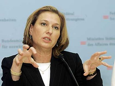 Livni affirms need for a two-state solution ahead of US trip