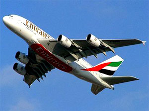 Detained UAE aircraft takes off from Kolkata to China